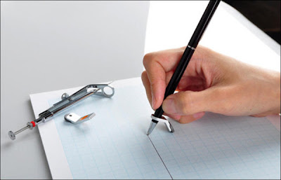 How to draw a straight line without a ruler? Seen On  www.coolpicturegallery.net