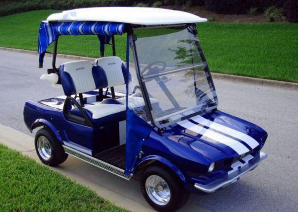 Cute Golf Cars