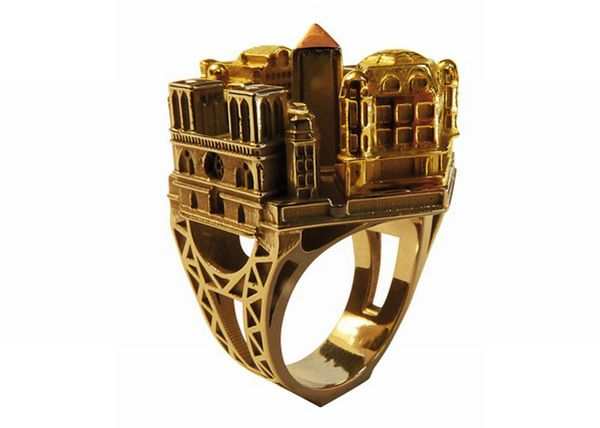 architectural ring 13 - Beautiful Architectural ring