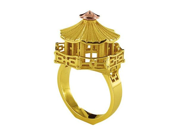 architectural ring 02 - Beautiful Architectural ring