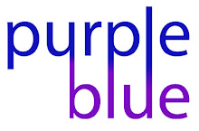 purple + blue
