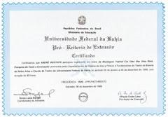 Certificado de Produção Videográfica