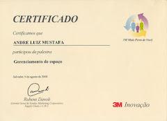 Certificado 3M -