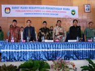Rapat Pleno KPUD