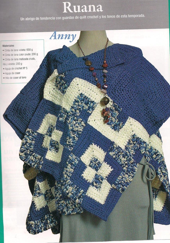 Ruana Al Crochet