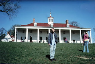 Jeremy at Mount Vernon Mansion
