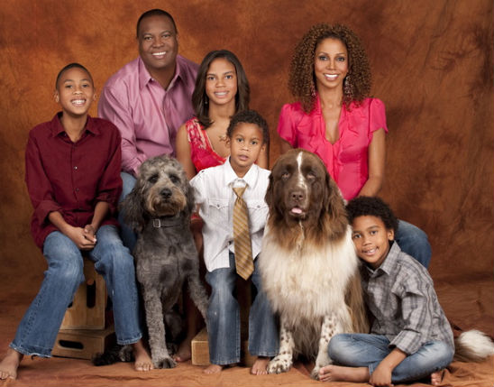 Holly Robinson Roman Peete Mom Holly Robinson Peete