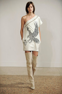 thigh high over-the-knee boots, Pucci 2009, beige tall boots
