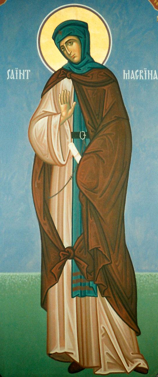 Santa Macrina dans immagini sacre macrina2