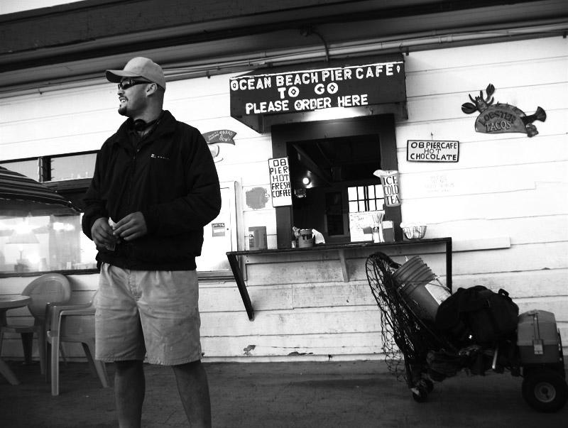 Ocean Beach Pier Cafe; click for previous post