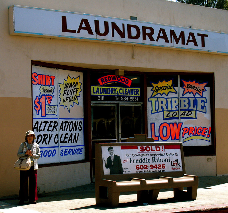 laundramat; click for previous post