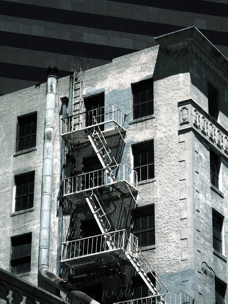 fire escape; click for previous post