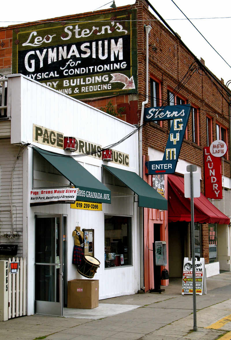 leo stern's gymnasium for physical conditioning; click for previous post