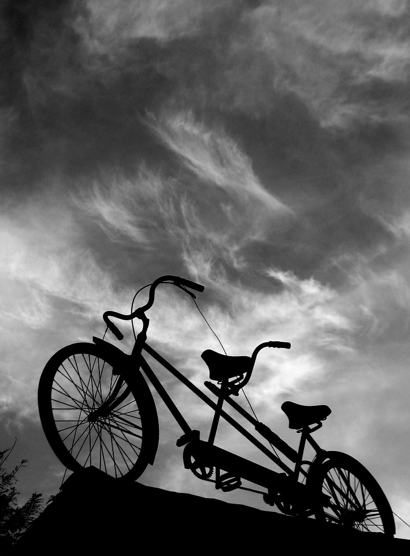 Bike in the sky; click for previous post