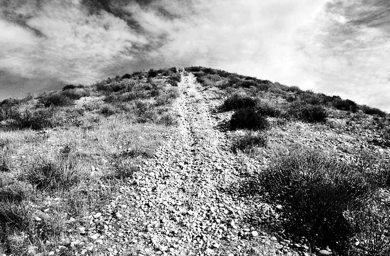 Gravel road; click for previous post