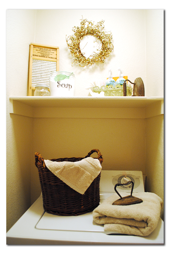 Christmas gift catalogs laundry room decor for small spaces - Making use of small spaces decor ...