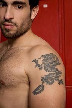 Arm Tattoo on Japanese Dragon Tattoos