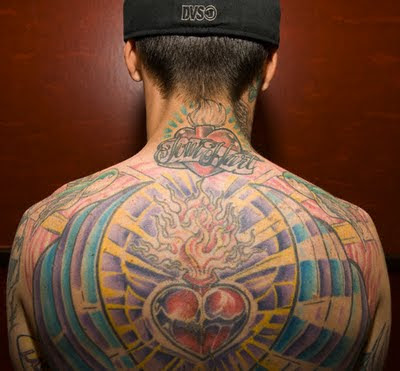 Heart or Upper Back Big Tattoo Designs