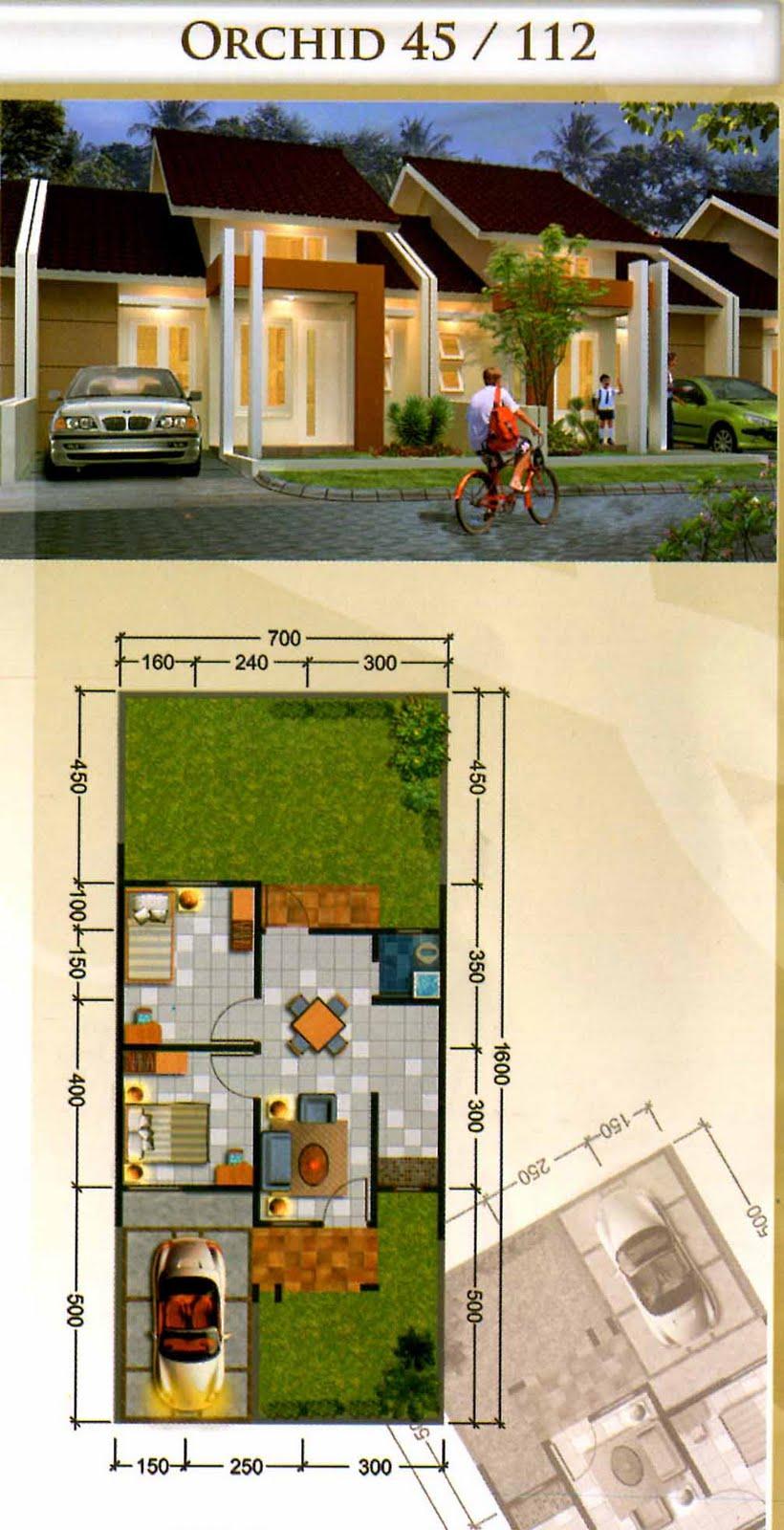 Aneka ide Desain Rumah Minimalis Type 45 Terbaru 2015 yang inspiratif