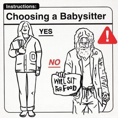 do the baby sitter com