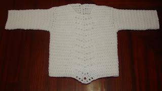"""... Bella Crochet y Tejido """": Suéter y Pantalón a Crochet para Bebe"""