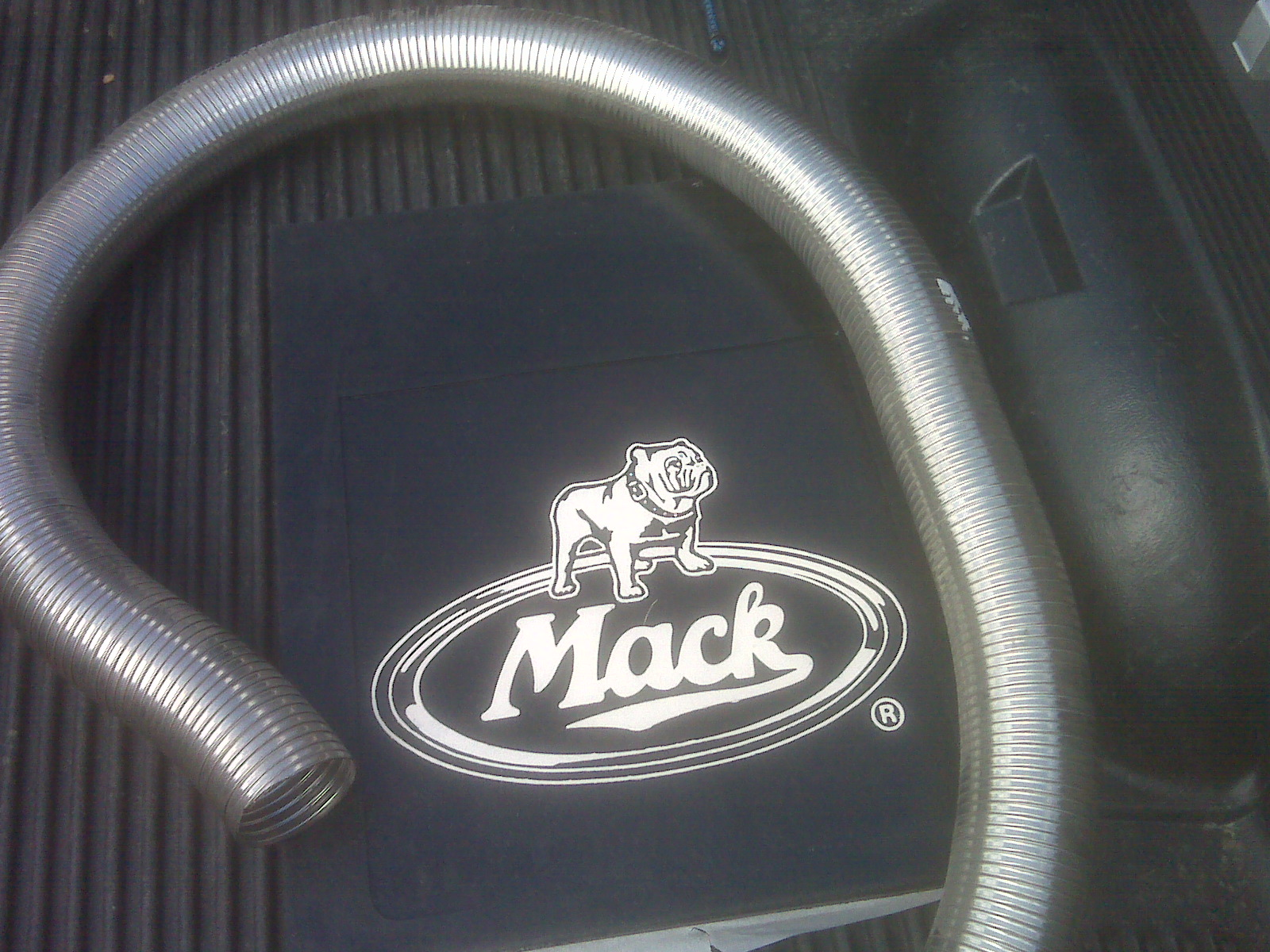 picked up 4 Mack mudflaps.