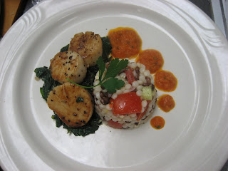 seared scallops israeli couscous seared scallops with israeli couscous ...