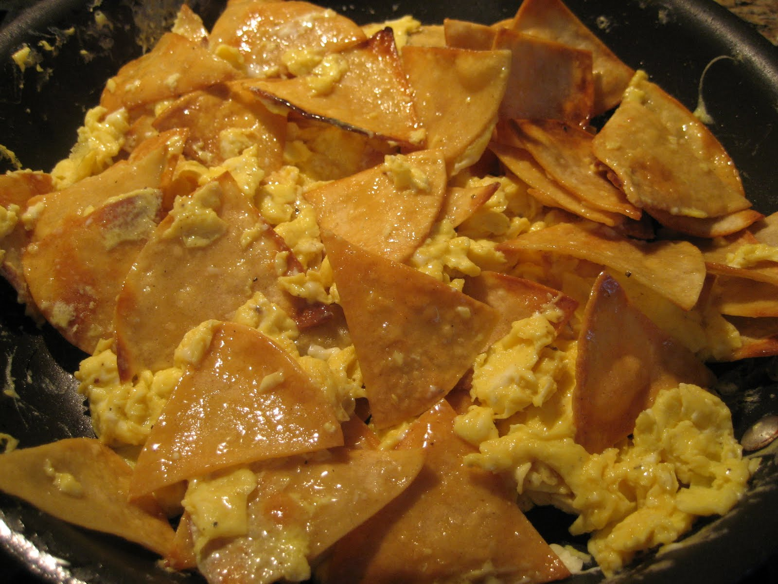 Mission: Food: Chilaquiles