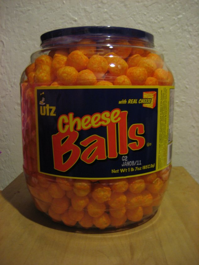 When I was little, my favorite junk food was Planter's Cheese Balls.