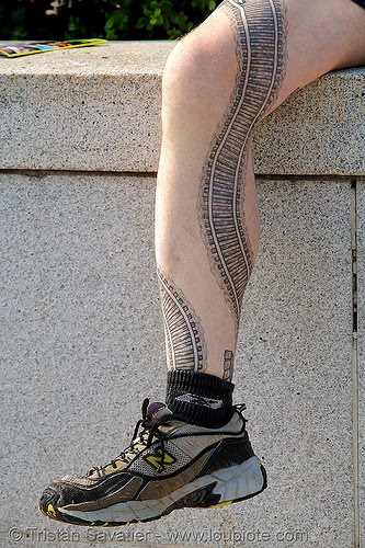 leg tattoos designs