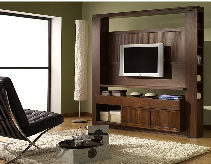 Home entertainment center. TIBET craftsman furniture collection design by Somerset Harris