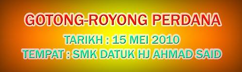 GOTONG ROYONG PERDANA