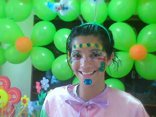 maquillaje de payasita!!!! - YouTube