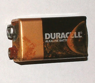batteries in the freezer: not a good idea!
