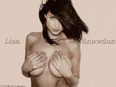 Lisa Snowdon fakes