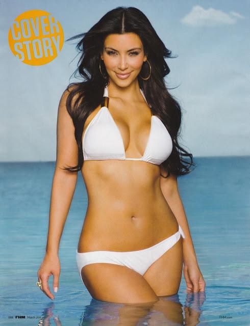 Kim Kardashian Bikini Pics