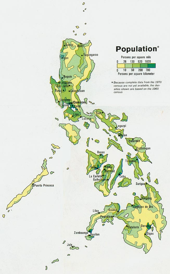 Mapang Demograpiko ( Demographic Map)
