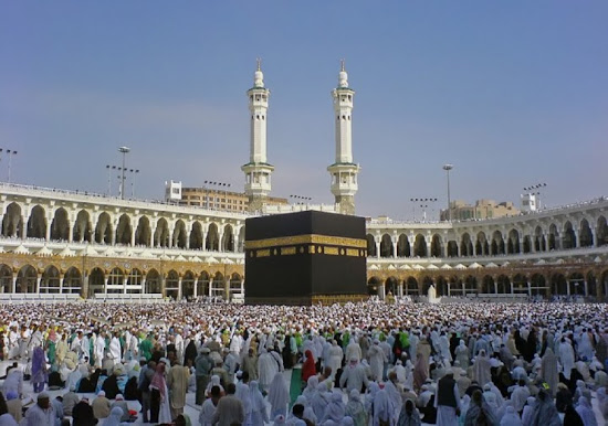 hajj experience report eid adha kaba photo