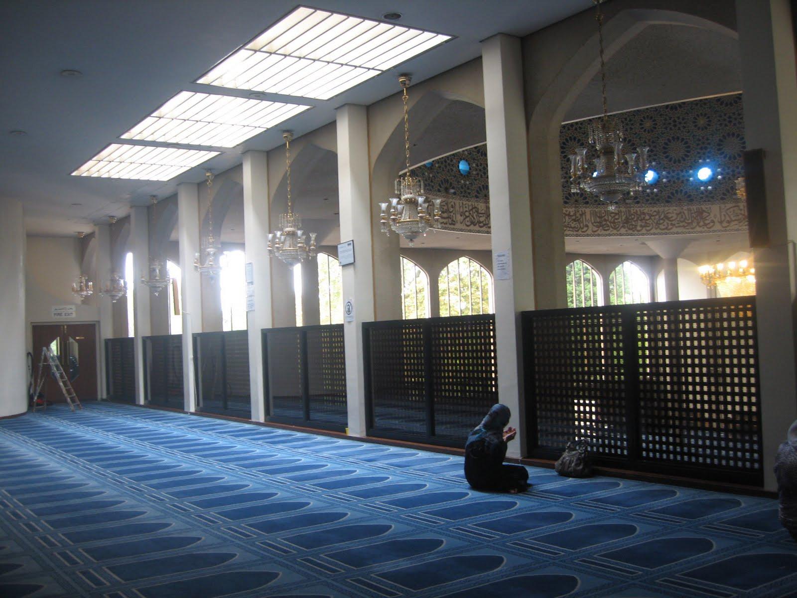 London Central Mosque Car Park