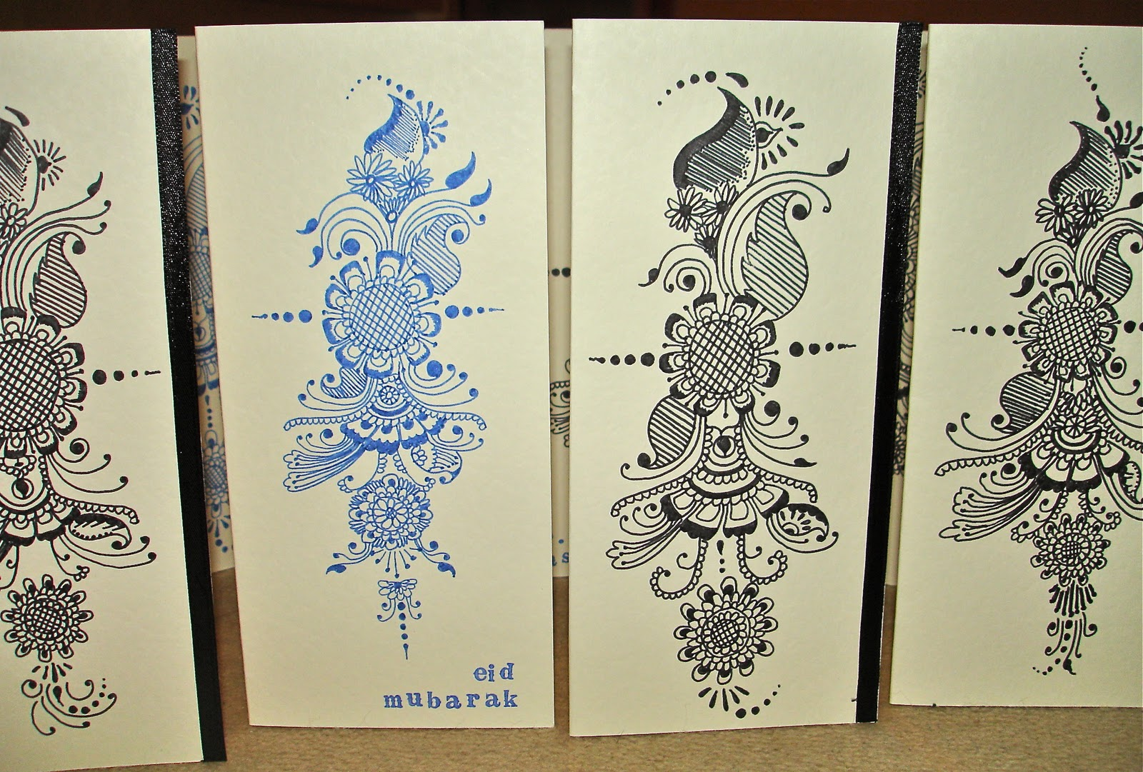 Mehndi Patterns Explained : You have mail henna inspired eid cards zaufishan