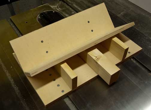 Cobbler Mountain Woodshop My Spline Jig