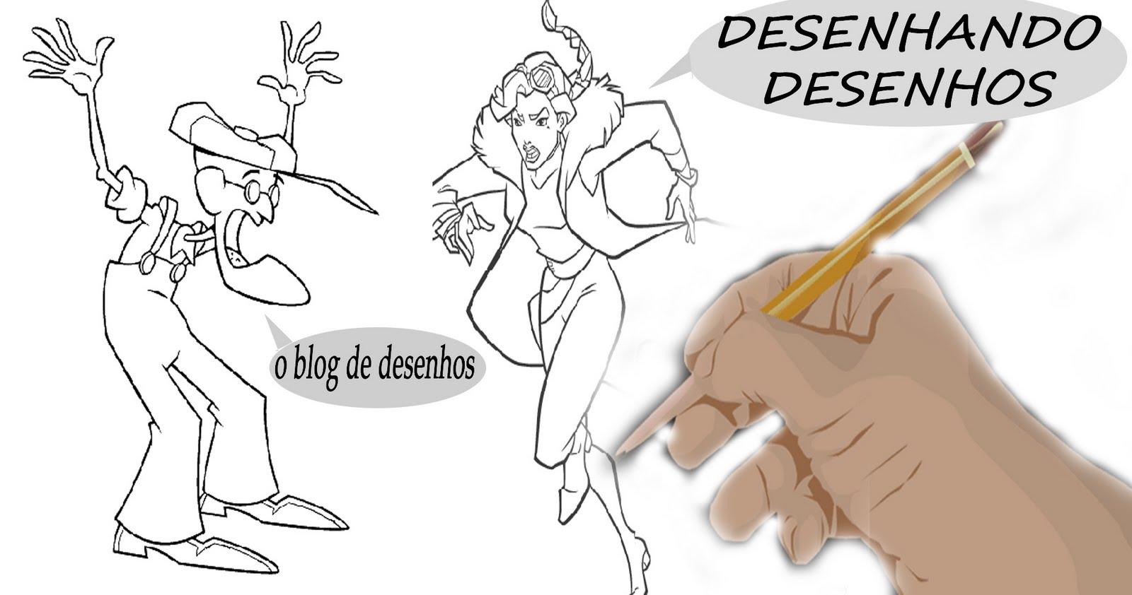 Desenhando Desenhos