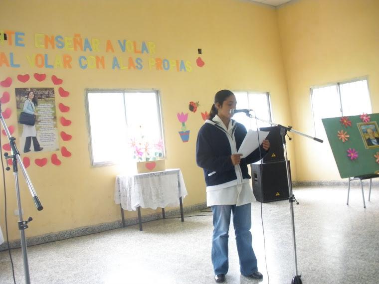 Discurso de Una Alumna del C.E.P. N° 42