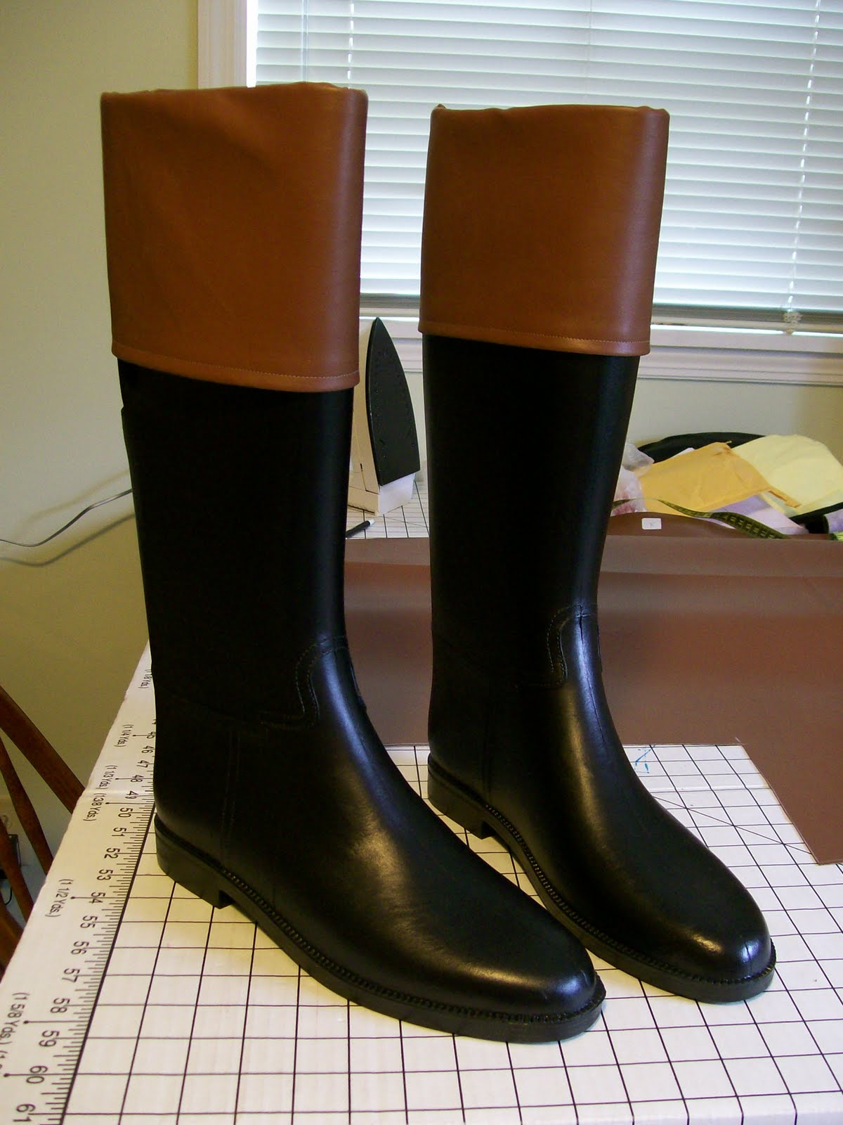 Living with Jane: How to make Regency Men's Boot: On a Budget