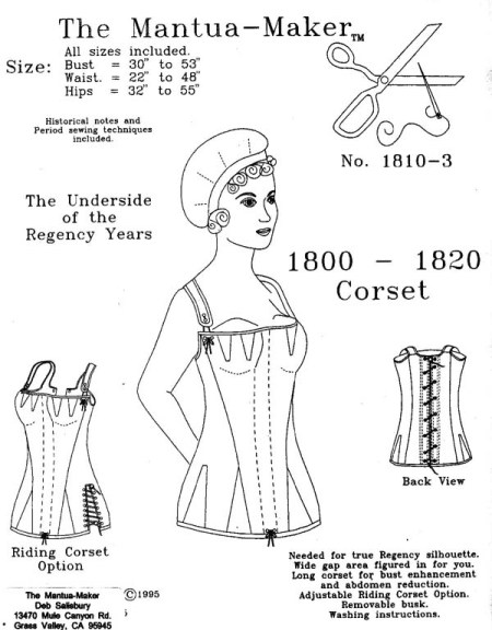 Free Corset Patterns - LoveToKnow: Answers for Women on Family