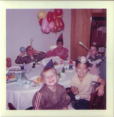 Audrey's Birthday - circa early 1960s