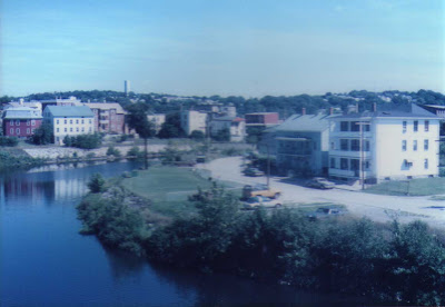 Woonsocket and the Blackstone River