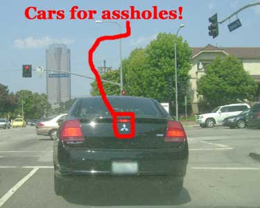 Cars for assholes!