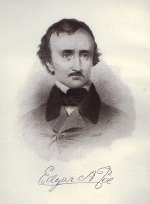 Frontispiece of Didier's THE POE CULT