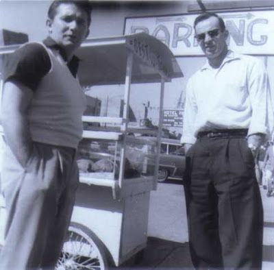 Louis Aldrich and Bud Malone